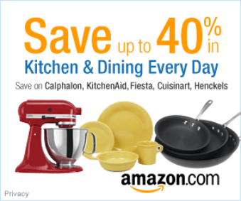 Save up to 40% in Kitchen and Dining Products