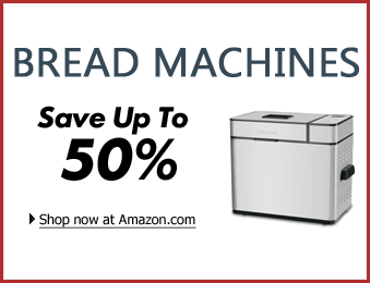 Bread machines on Amazon