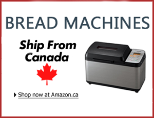 Bread machines on sale in Canada