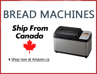 Bread machines on Amazon.ca